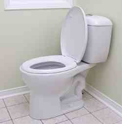 Toilet commode, plumbing repair
