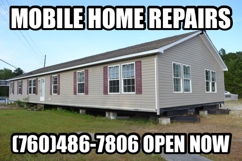 Mobile home repairs , manufactured home , plumbing high desert , plumber