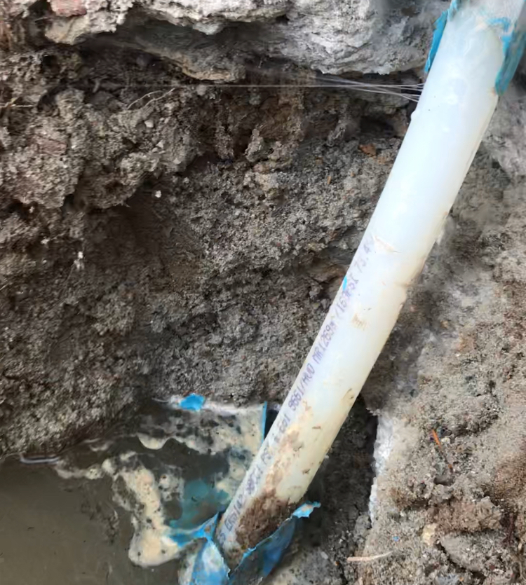 Pex pipe leaking